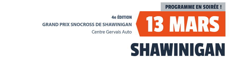 Grand Prix Snocross Shawinigan